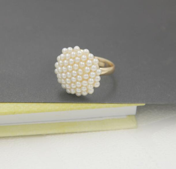 Pearl Ring - Crateen
