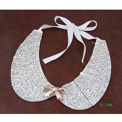 Silver Detachable Collars