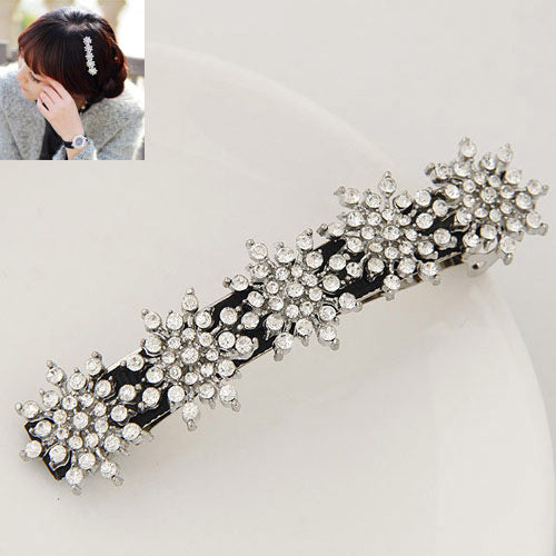 Diamond rose Hair Band - Crateen