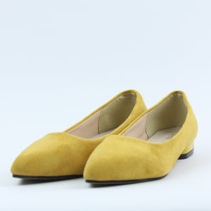 Yellow Style Women Shoes - Crateen