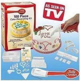100 Piece Decorating Kit - Crateen