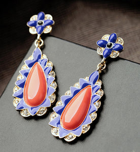 Orange Style Earring for women