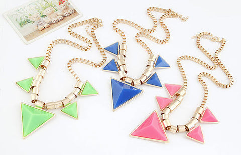 Triangle Necklaces for women