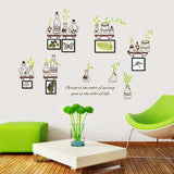 Bottles Design Wall Sticker