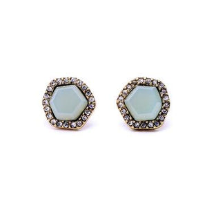 Light Blue Earring - Crateen