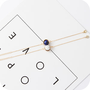 Marble Ball Fashion Bracelet