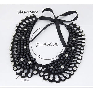 Black Diamond Detachable Collars - Crateen