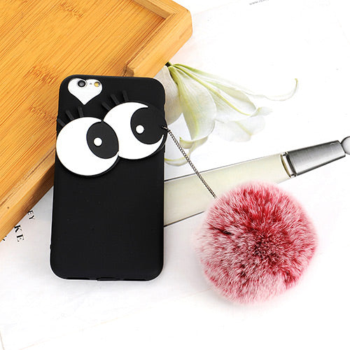 Fashion Black+red Big Eyes Case Iphone6/6s Case - Crateen