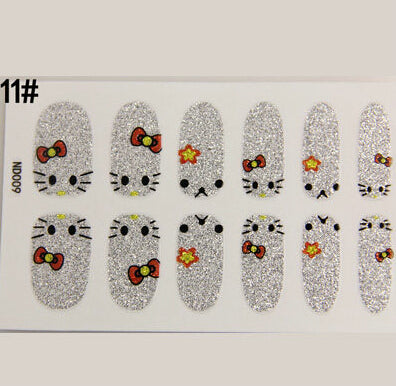 Nail Stickers Style 97 - Crateen