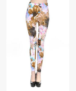 Roses Leggings - Crateen