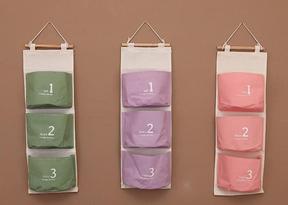 Items Wall Pocket - Crateen