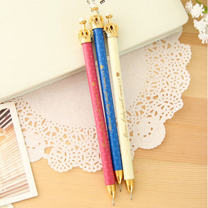 Metal Crown Pencils - Crateen