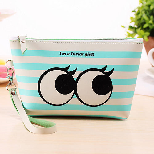 Lucky Girl Waterproof Pens Case - Crateen