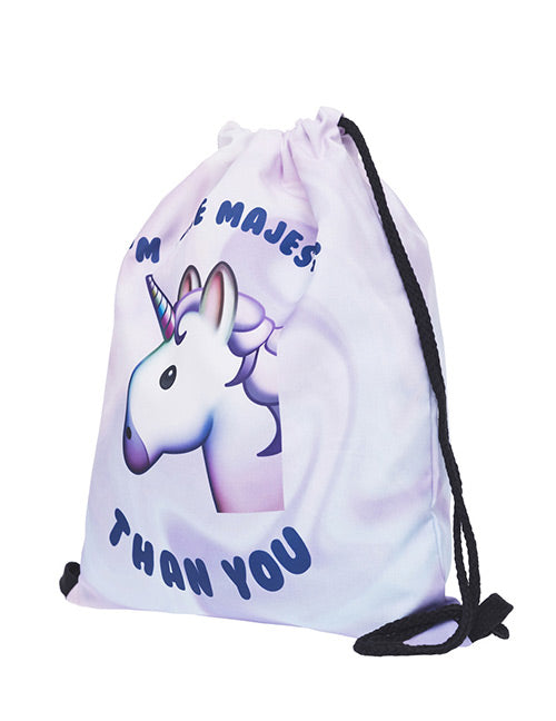 Purple Unicorn Storage Bag
