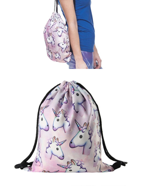 Unicorn Simple Backpack