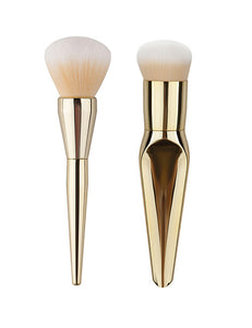 Gold Color Mermaid Makeup Brush - Crateen