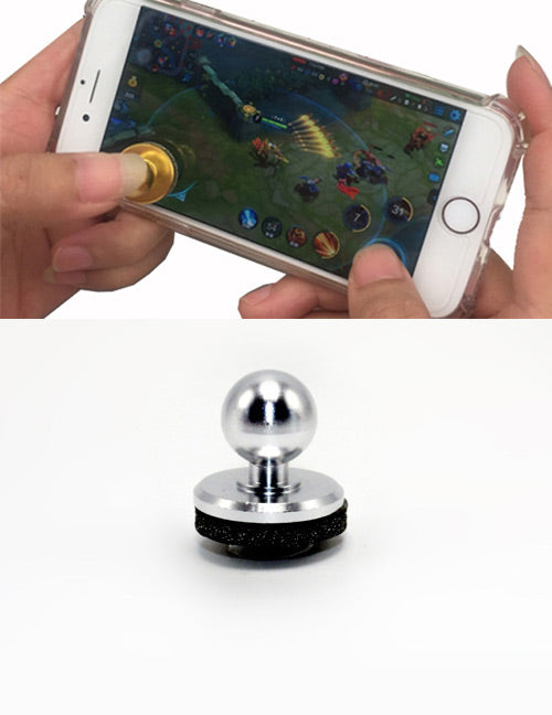 Silver Mobile Joystick - Crateen