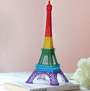 Colored Eiffel Tower