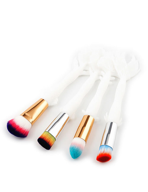 Color matching Decorated Makeup Brush - Crateen