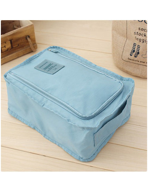 Blue Modern Storage Bag - Crateen