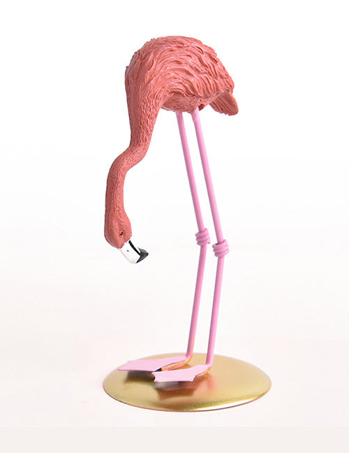 Pink Flamingo Shape Ornament
