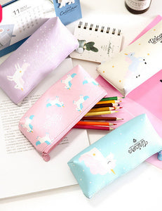 Pink Unicorn Pencil Bag