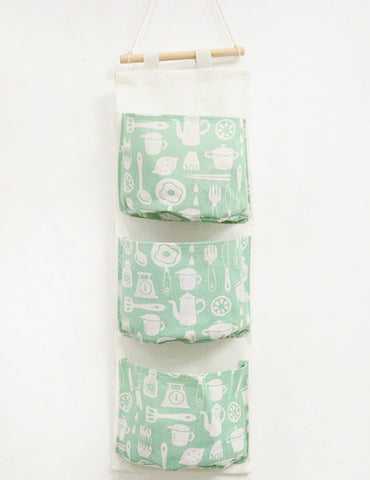 Green Chopsticks Storage Bag