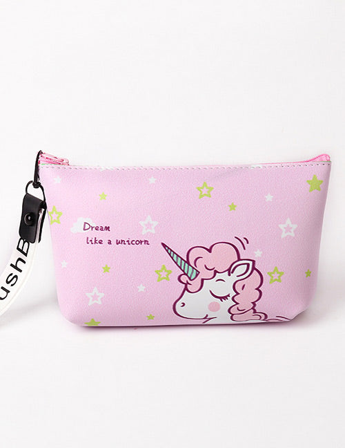 Pink Unicorn Storage Bag