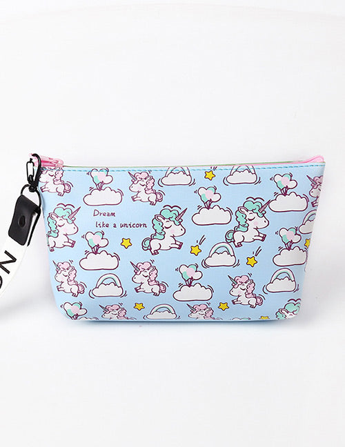 Blue Unicorn Storage Bag
