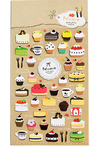 Cakes Decorated Sticker