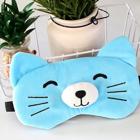 Cute sleeping eye mask
