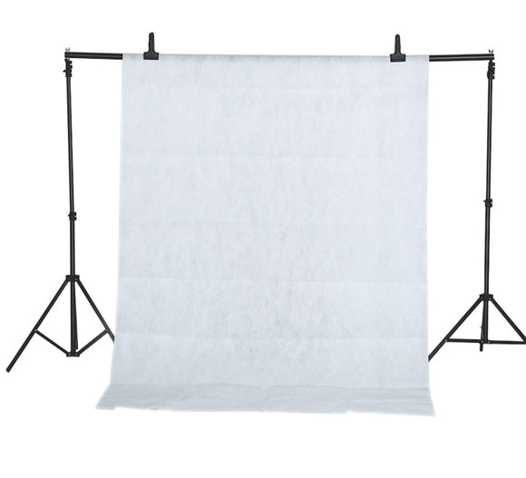White 1.6x2m Textile Muslin Photo Backdrop