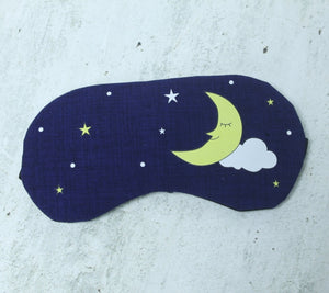 Moon sleeping eye mask