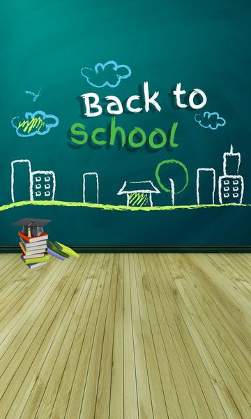 Back to School Photography Background - Crateen