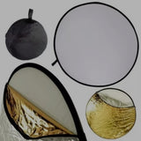 5 in 1 Collapsible Light Reflector Disc