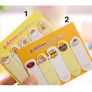 Lovely Egg & Food sticky note - Crateen