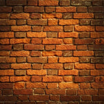 Red Brick Wall Photography Wallpaper - Crateen