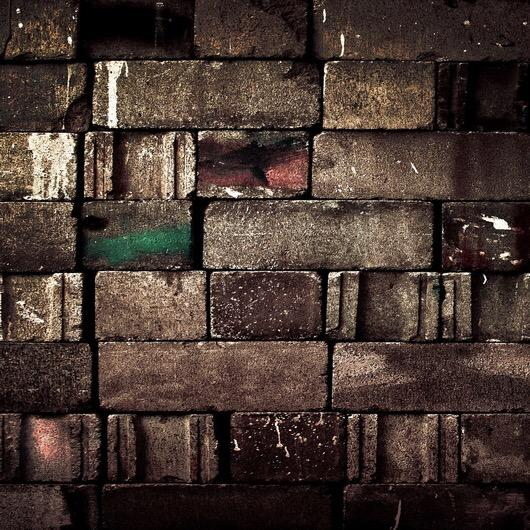 Vintage Brick Wall Photography Wallpaper