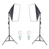 Offer - SoftBox Lights & Background Stand