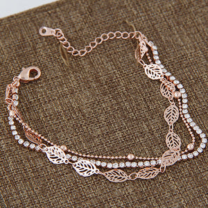 Sweet Rose Gold Bracelet