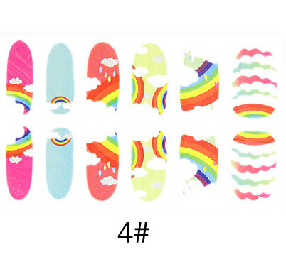Nail Stickers Style 105 - Crateen