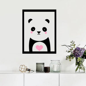 Panda Wall Stickers - Crateen