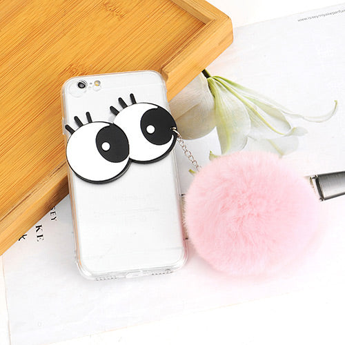 Fashion Pink Big Eyes Case  Iphone6/6s - Crateen