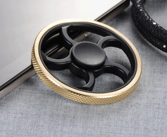 Black Gold Spinner Toy