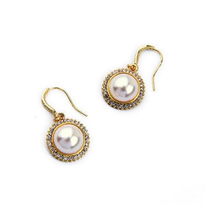 White Lulu Earring - Crateen
