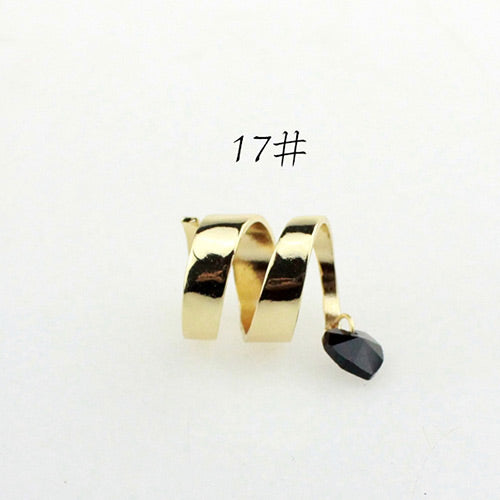 black heart rings for women