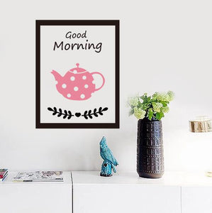 Good Morning Wall Stickers - Crateen