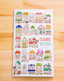 Colouring Notebook - Crateen
