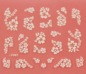 Nail Stickers Style 20 - Crateen