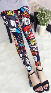 Colorful Leggings - Crateen
